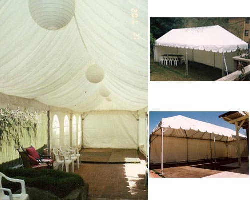 Marquee 3m with Silk Lining