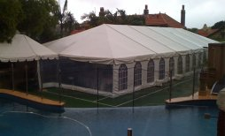 Marquee at Mosman (NSW) private party