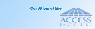 Conditions of Hire
