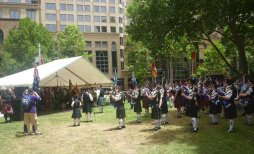 Scottish Gathering at Sydney Hyde park