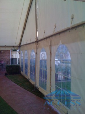Gable Style 9 m wide