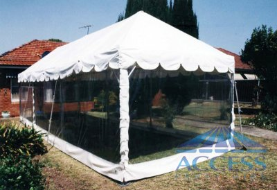 Marquee 3m wide